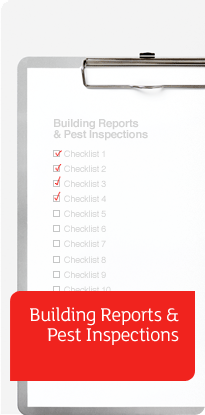 Building Reports and Pest Inspections banner